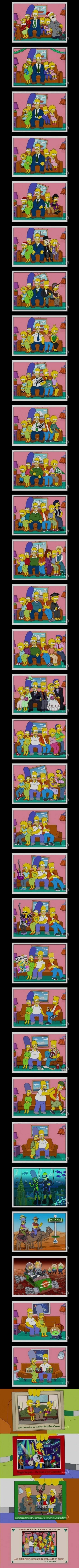 Simpsons Christmas Cards - Imgur