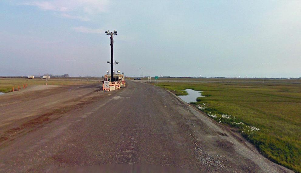 la fin de google maps en alaska